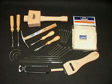 Tapicería Kit de herramientas 20 Mazo De Tachuela Grapa Cinceles Martillo Camilla Tenazas Delantal