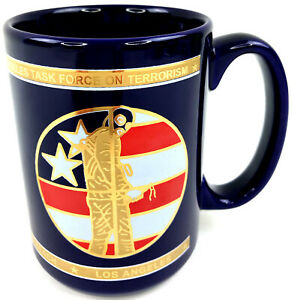 Los-Angeles-Task-Force-On-Terrorism-Coffee-Mug-Cup-LA-Long-Beach-Riverside-NEW