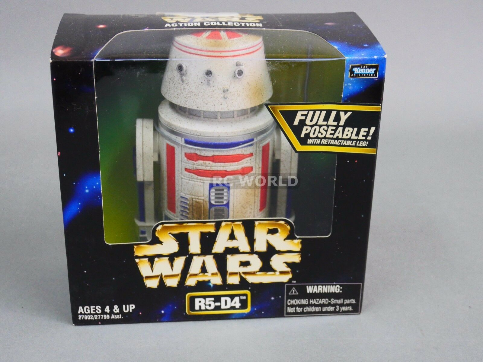 Vintage Star Wars  R5-D4 Droid  Action Collection  6