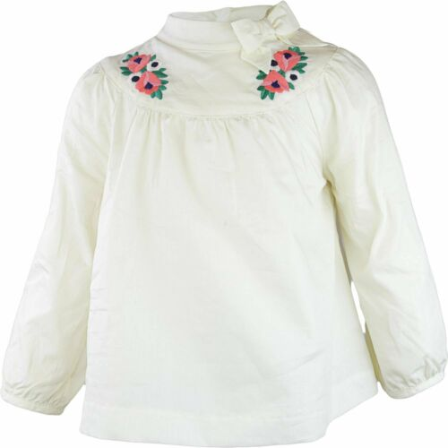 Janie And Jack Embroidered Poplin Top Button-Down /& Dress Shirt