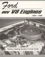 Ford Engine Casting Number Id & Part Number Code Book