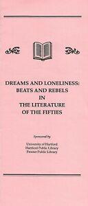 DREAMS-amp-LONELINESS-BEATS-amp-REBELS-UNIV-HARTFORD-PROGRAM-1992-CHARTERS-NEELI