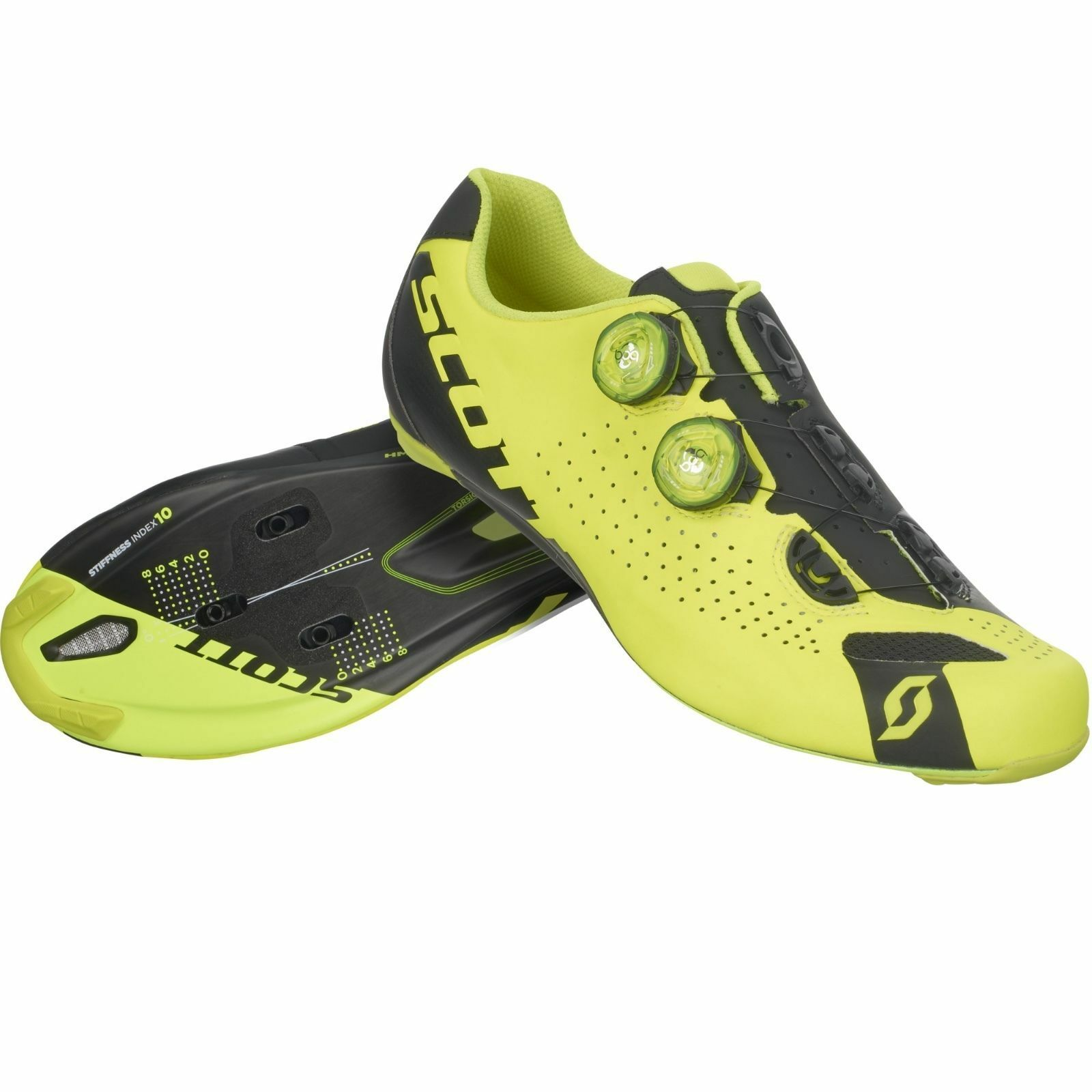 Schuhe SCOTT ROAD RC colore NERO-GIALLO FLUO