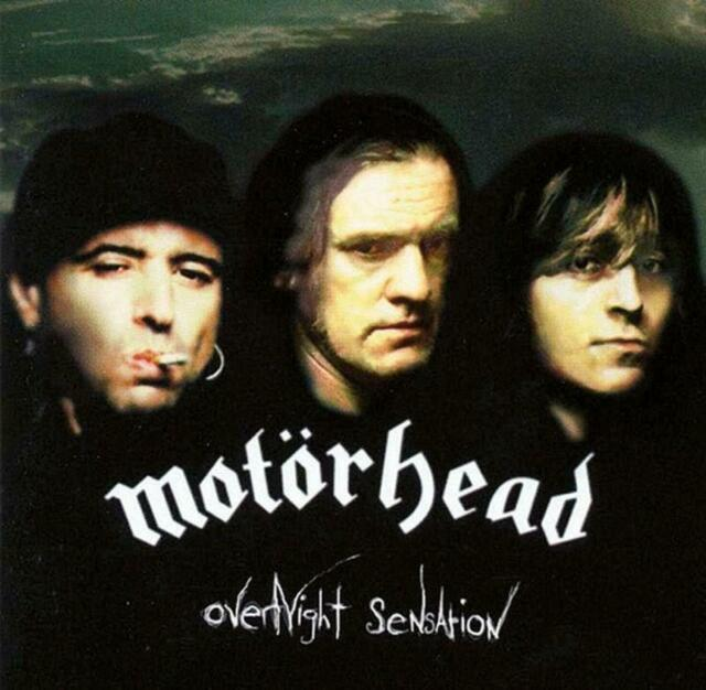 MOTORHEAD ‎– OVERNIGHT SENSATION VINYL LP (NEW/SEALED)