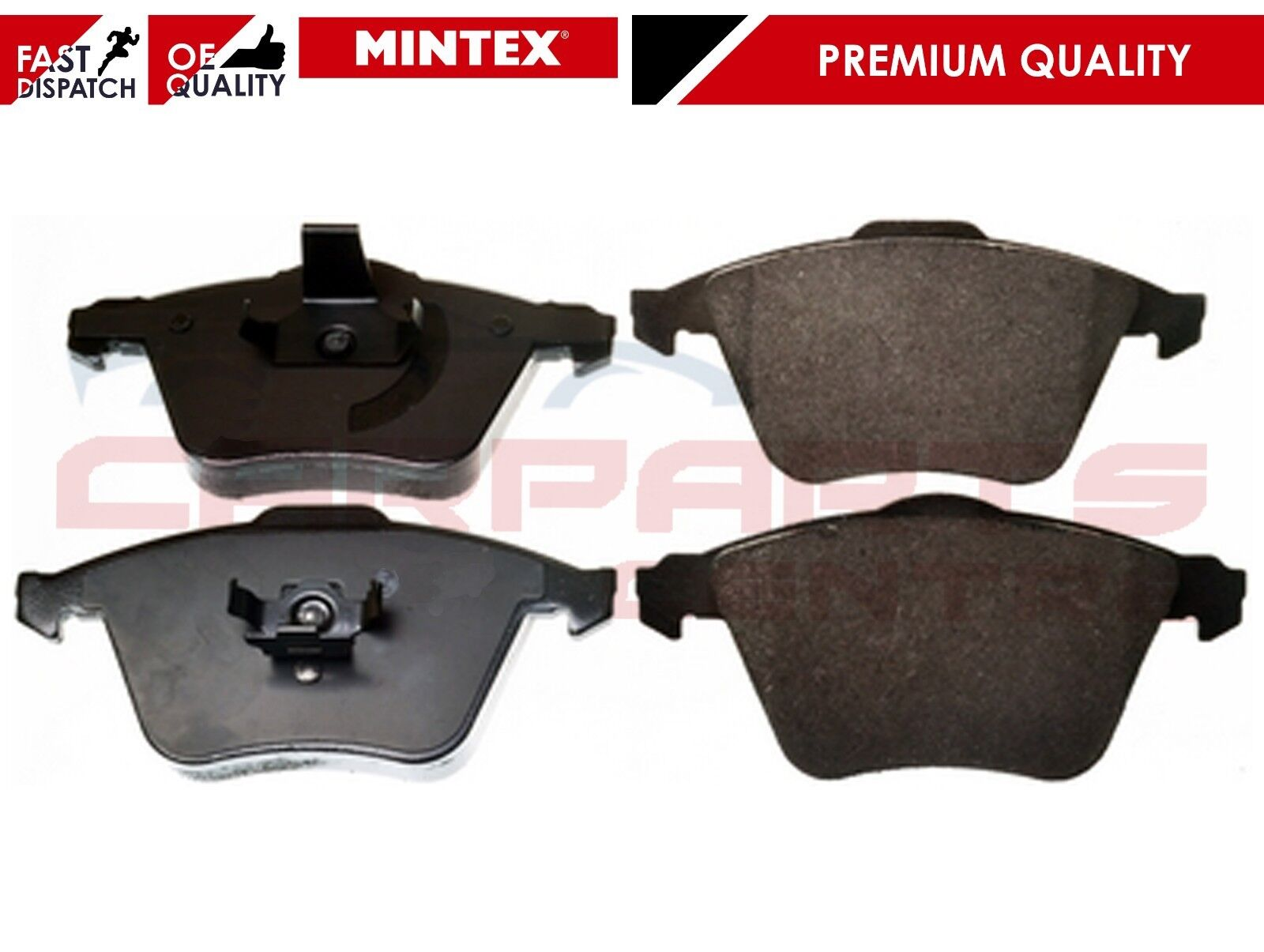 Front Mintex Brake Pads MDB2749 Focus ST 2.5
