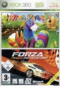 Viva-Pinata-amp-Forza-Motorsport-2-Xbox-360-Game-Buone-condizioni