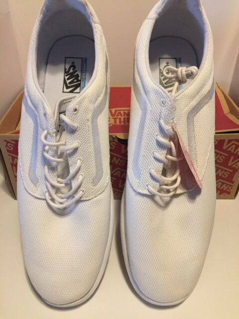 40122b5923 VANS off The Wall ISO 1.5 Mesh True White Shoes Mens Size 16 SNEAKERS Sk8