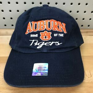 Auburn-Tigers-NCAA-SEC-College-Sports-TOW-Navy-Blue-Strap-Back-Cap-NWT-Dad-Hat