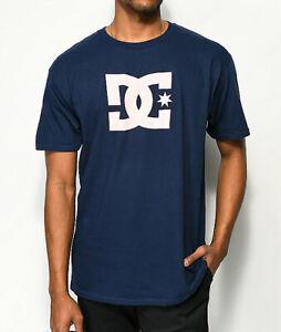 2bf9b3249184 DC Shoes Star Skateboard T-Shirt Tee Blue NEW NWT Streetwear Snow ...