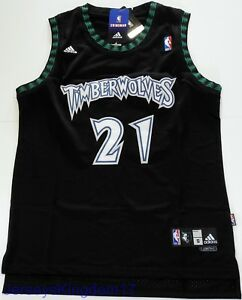 Image is loading Swingman-Basketball-Jersey-KEVIN-GARNETT-21-Minnesota- Timberwolves- cb0451efd
