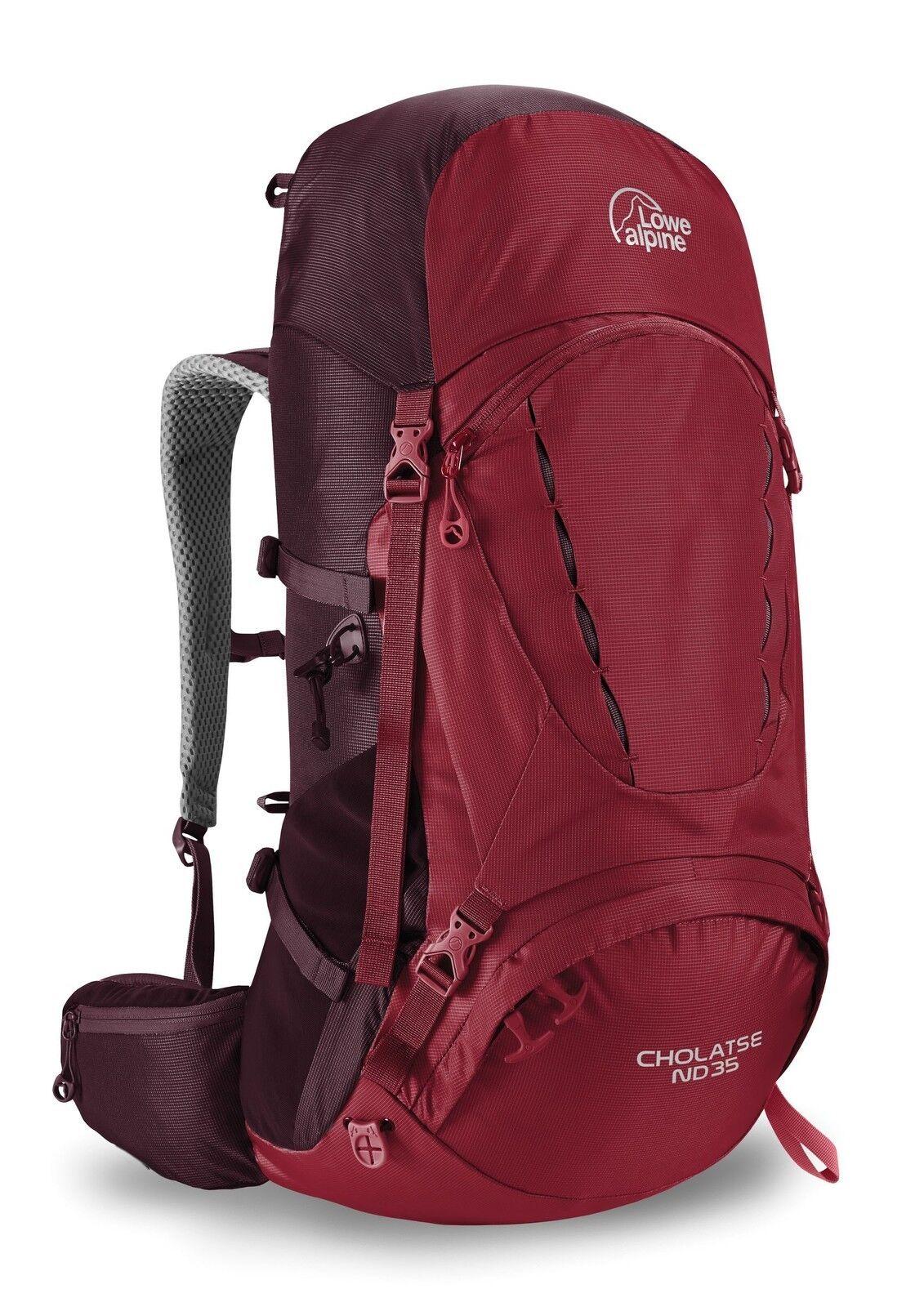 Lowe rosso Alpine Cholatse nd35 escursioni a piedi Zaino Rio rosso Lowe fmp-66-rr-35 3e9a1f