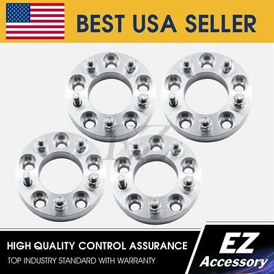4 Wheel Adapters 5 Lug 5x120 to Lug 5x114.3 Camaro 2010 Honda Pilot Spacers 1/""