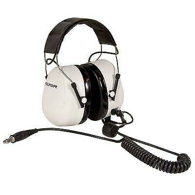 Peltor Race/Rally/Motorsport Standard Practice Headset In White
