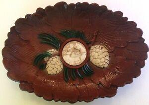 Vintage-Burwood-Oval-Platter-Soo-Locks-Sault-Ste-Marie-MI