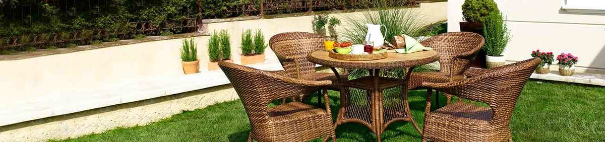 Shop event Save from 15% on Garden Furniture Sets Great savings on fine Rattan Furniture Sets