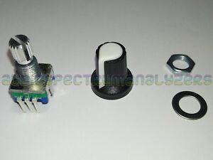 Rotary-Encoder-5-pin-with-Knob-Top-Clickable-Switch-Arduino-Raspi-LinuxCNC-GOTEK