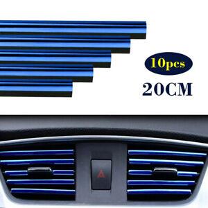 10x 20 см синяя машина кондиционер воздуха воздуха выход декор яркая лента отделка аксессуары