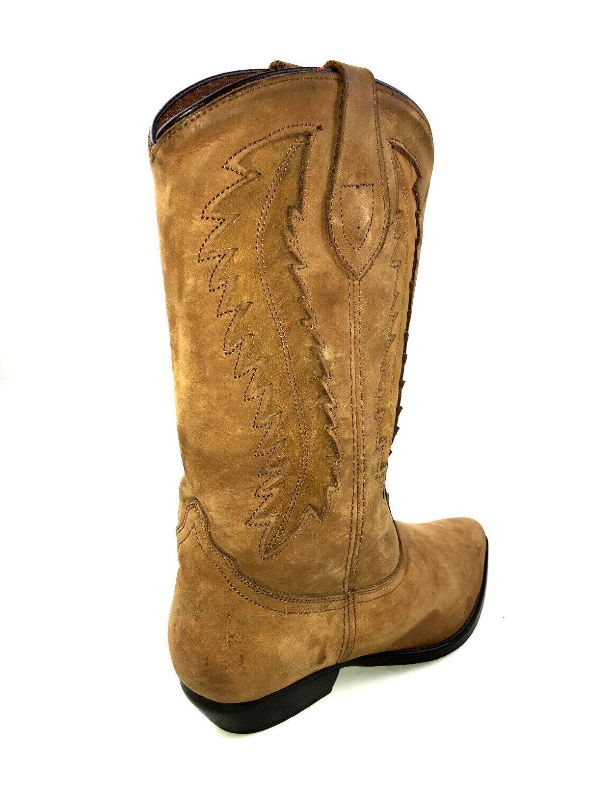 Dingo Western todo el Cuero Marrón Vaquero botas EE. UU.