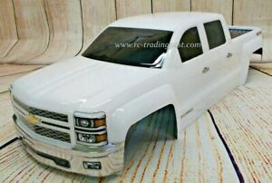 Custom Painted Body 2014 Silverado For 1 10 1 8 Rc Monster Trucks T E Maxx Revo Ebay