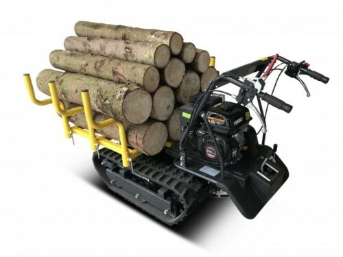 BAMATO Mini Raupendumper MTR-300H Minidumper Holzrunge Motorschubkarre Dumper