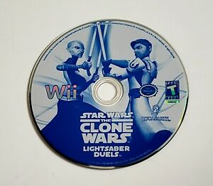 Star Wars: The Clone Wars Lightsaber Duels Nintendo Wii VIDEO GAME DISC ONLY