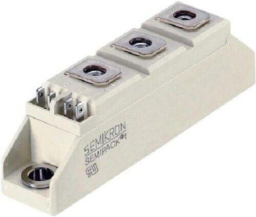 Semikron SKKT THYRISTOR SCR MODULE 101x50x52mm 1800V 600A 2-Pins A42 Panel Mount
