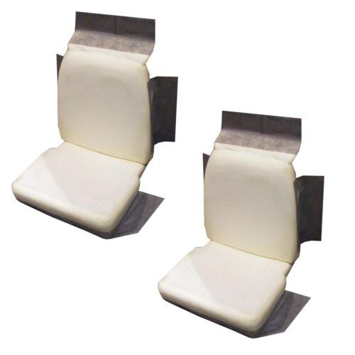 1966-67 A-Body B-Body Dart Coronet Charger Front Bucket Seat Foam Buns Cushions