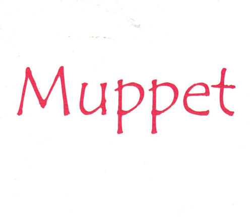 Muppet Funny Humour Card G ~ FREE POSTAGE UK