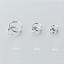 925-Sterling-Silver-Solid-Hoop-Ring-Sleeper-Earrings-Lip-Ear-Nose-Body-Piercing thumbnail 2