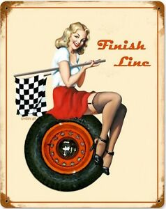 Finish-Line-Pin-Up-rusted-metal-sign-pst