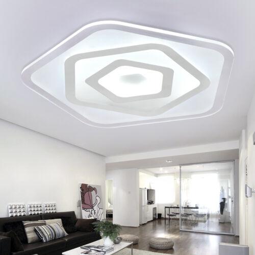 Modern Acrylic LED Ceiling Lighting Bedroom Lights Pendant Lamp Flush Mount