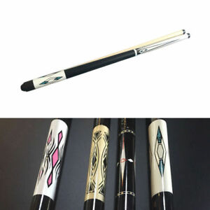 Billiard-Queue-Pool-Billard-Zubehoer-Cue-147cm-Laenge-Billard-Cue-zufaellige-Farbe