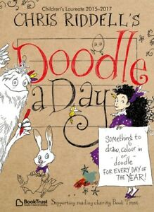 Chris-Riddell-039-s-Doodle-a-Day-by-Chris-Riddell-Paperback-FREE-Shipping-Save-s