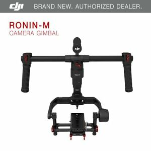 DJI-Ronin-M-3-Axis-Brushless-Gimbal-Stabilizer-with-2-Batteries-Brand-New
