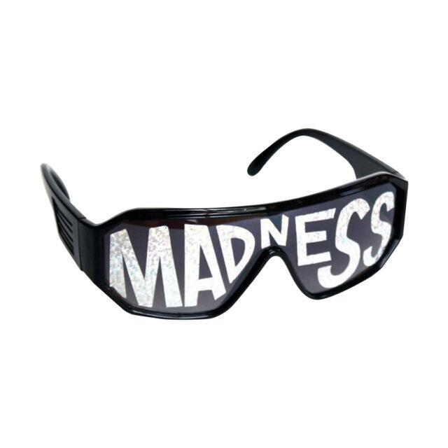 79123c45c699 Macho Man Black Madness Sunglasses Randy Savage Costume Wrestler Wrestling  Party