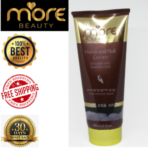 MORE-BEAUTY-Dead-Sea-Hand-and-nail-Cream-holy-land-Enriched-Mud-180ml-Treatment