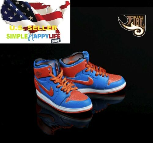 1/6 man sneakers sport basketball shoes Nike air style for hot toys phicen ❶USA❶