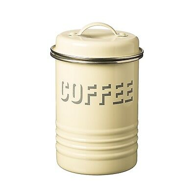 Typhoon Vintage Kitchen Coffee Canister - Cream, Red, Black, Blue