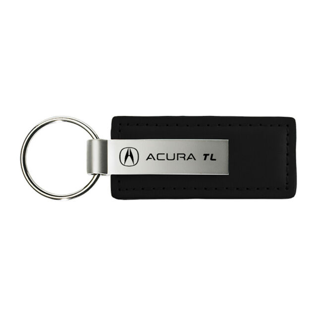 Acura TL Keychain & Keyring - Premium Black Leather