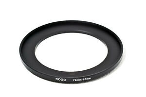 Stepping Ring 72mm - 95mm Step Up Ring 72-95mm 72mm to 95mm Ring