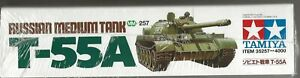 Tamiya Russian Medium Tank T-55A in 1/35 257 ST