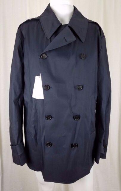 aa94dc080 Ralph Lauren Violet Label Double Boutonnage Caban Pluie Trench-coat Hommes  XL