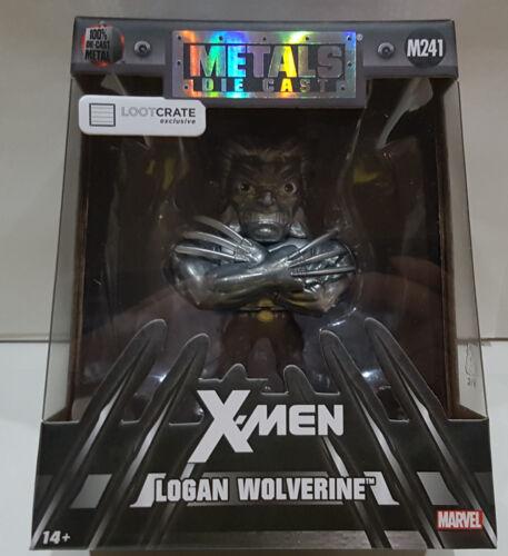 MARVEL X-MEN LOGAN WOLVERINE DIE-CAST METAL LOOTCRATE EXCLUSIVE