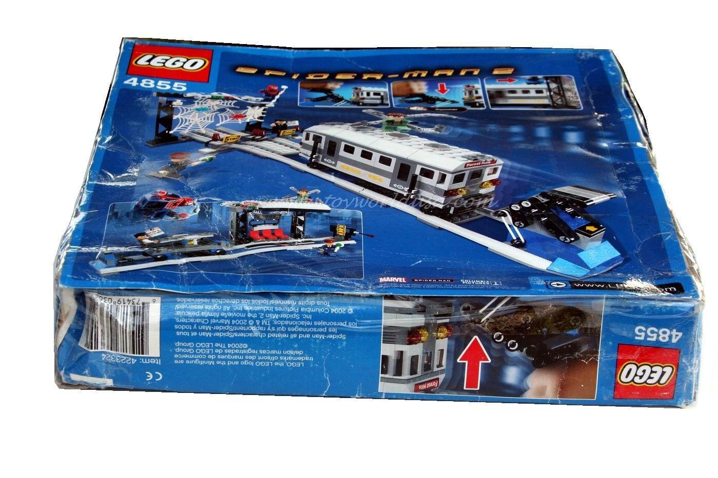 Lego Spider  homme 2 Spider-Man 's Train  Rescue  4855 Building Toy Set non-Comme neuf BOX  magasin en ligne