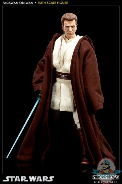 Star Wars Padawan Obi-Wan 1 6 scale figure by Sideshow Collectibles