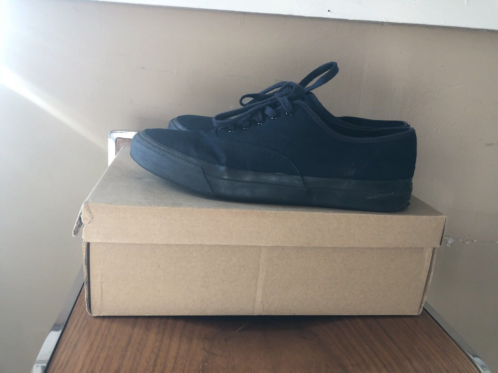 Ralph Lauren Double RL Military Issue Sneakers Sz 9