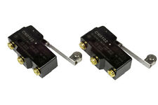 2 Lot Temco Heavy Duty 15a Micro Limit Switch Roller Lever Arm Spdt Snap Action