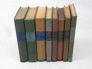 Lot-of-8-ALDOUS-HUXLEY-Harper-amp-Brothers-Hardcovers-1930s-1950s
