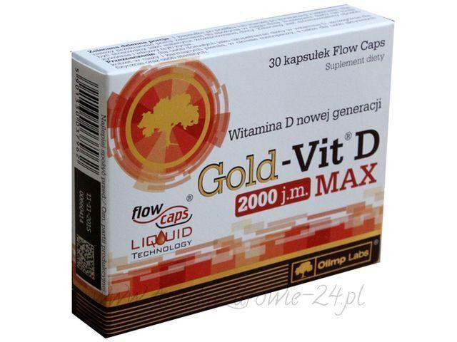 Olimp Gold Vit 2000IU D 2000IU Vit MAX 30caps 98a353