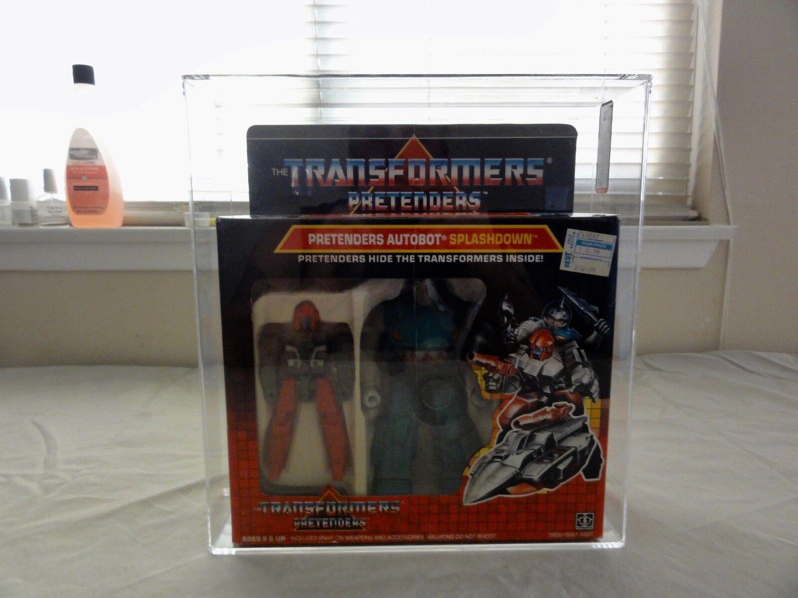 1988 Transformers AFA Autobot Pretenders  Splashdown MISB MIB scatola  prezzi equi